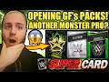 OPENING GF's PACKS! Platinum Pack Opening + Monster Single Pack! Noology WWE SuperCard Season 4 S4