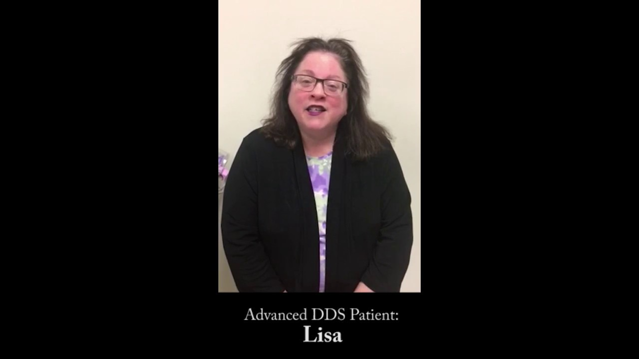 Advanced DDS Garden City Dentist Lisa Video Testimonial YouTube