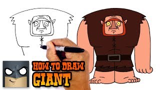 How to Draw Giant   Clash-A-Rama