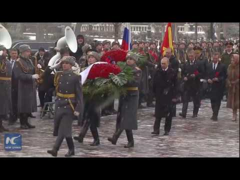 Putin marks Defender of the Fatherland Day