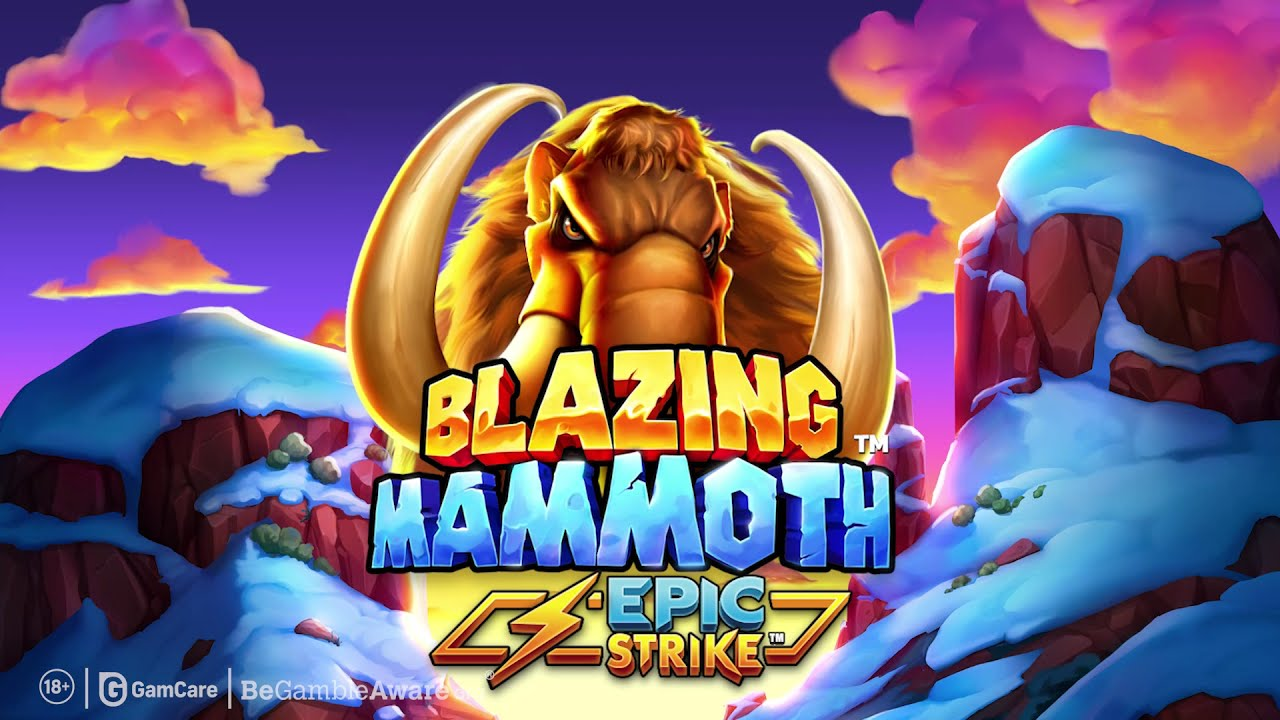 permainan slot blazing mammoth epic strike dari microgaming