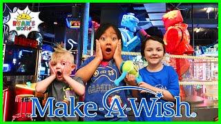 Ryan Play Games At Dave And Busters With Dalton And Josiah