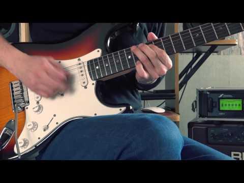 Joe Satriani - Friends - Guitar performance by Cesar Huesca