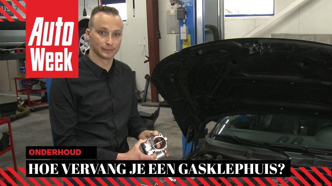 Joep legt uit gasklephuis autoweek onderhoud youtube for Sensor schoonmaken