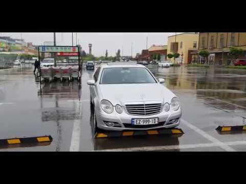 Из Грузии в Армению!!!Тбилиси - Талин,на машине!Ремонт дороги!!!Часть 1