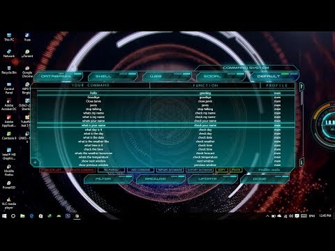 How to download and install Intelligence LINKS Mark II Jarvis mega voice  command on Windows 10