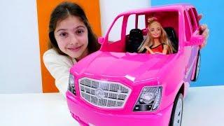 Работа для Полен - Продавец автомобилей - Видео для девочек с Барби
