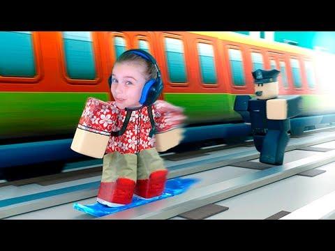САБВЕЙ СЕРФ в Роблокс Челлендж прохождение игра Roblox Subway Surf