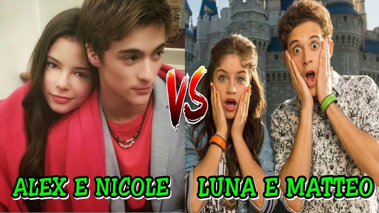 Alex e Nicole Vs Luna e Matteo [ scrivetemi sotto chi preferite ...