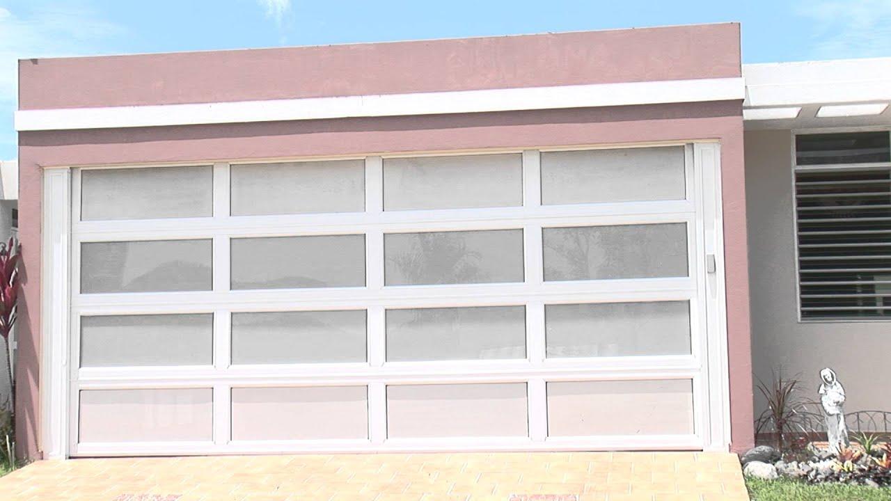 La casa de las puertas cristy puertas de garaje youtube - Puertas de cochera ...