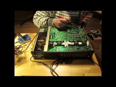 Nad 3150 stereovahvistimen korjausta