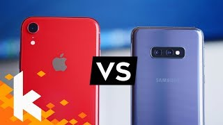 Galaxy S10e vs iPhone Xr - Was ist besser?