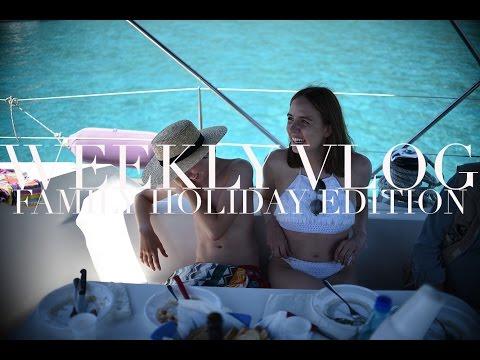 Weekly Vlog | Family Summer Holiday