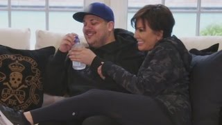 Rob Finally Returns to 'Keeping Up With the Kardashians' -- Watch the Sweet Scene!