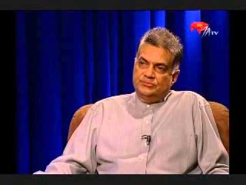 3D Interview with Ranil Wickramasinghe   P1