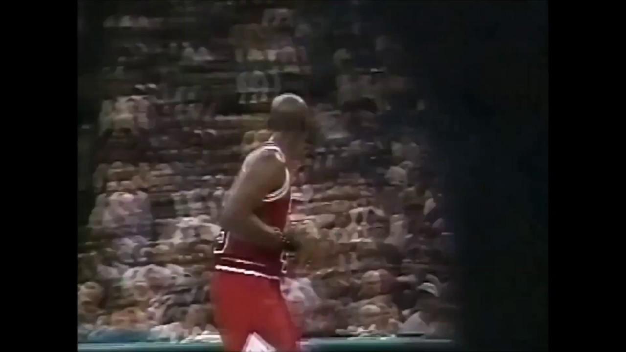 8e5fe0a6757 Michael Jordan 1995 Playoffs Full Series Highlights v Charlotte Hornets -  #45 GOAT