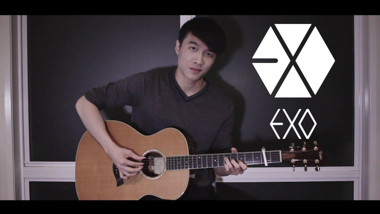 Exo Monster Guitar Cover Youtube