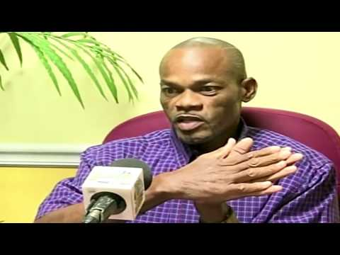 Local Television Staion (ZNS TV 13 Bahamas) Interviews Larry Laing