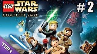 Lego Star Wars La Saga Completa - La Amenaza Fantasma - Capitulo 2 - HD 720p