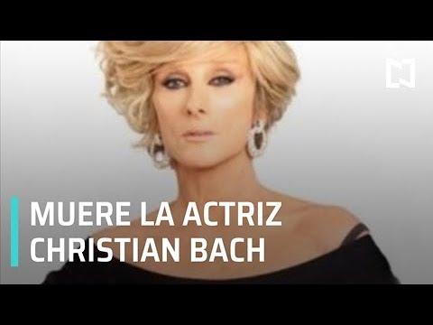 Muere la actriz Christian Bach a los 59 años de edad - Al Aire