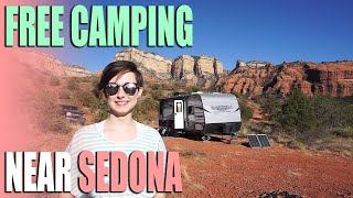 Free Camping Near Sedona, Arizona | Forest Road 525 | Campsite Review