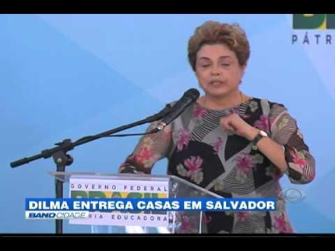 """Band Cidade - """"Dilma entrega casas em Salvador"""""""