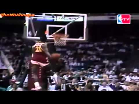 Dominique Wilkins 1990 Slam Dunk Contest - Power Windmill
