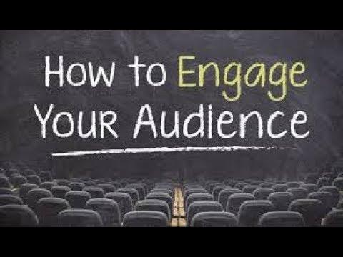 Strategies on Engaging Your Audience | AskDeborahRobertson