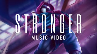 Download lagu SPIDER MAN INTO THE SPIDER VERSE Stronger The Score Music Tribute