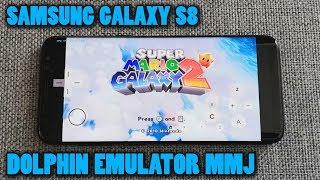 Samsung Galaxy S8 (Exynos) - Super Mario Galaxy 2 - Dolphin Emulator 5.0-10648 (MMJ) - Test