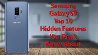Samsung Galaxy S9 Top 10 Hidden Features (20 Tips & Tricks Part 1) - YouTube Tech Guy
