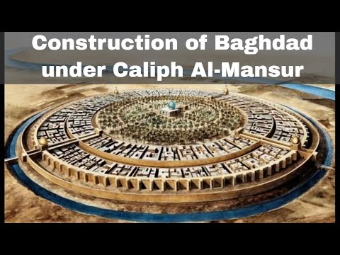 30th July 762: Construction begins on the city of Baghdad under Caliph Al-Mansur