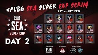 SEA SUPER CUP SCRIM   Creatory, Divine, Purple Mood, Gamehome, Buriram   Caster: Galaxy - 22/02/2020