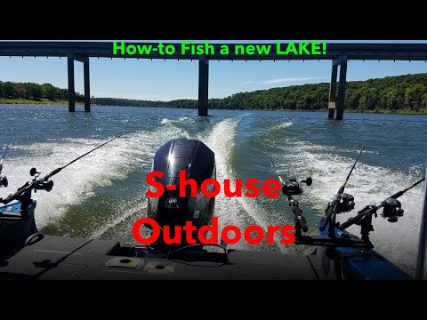 How To Fish A New Lake (Pomme De Terre)