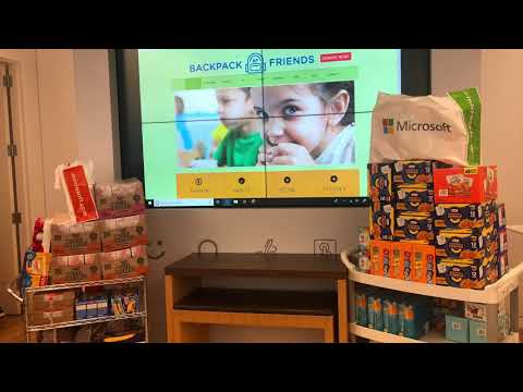 Microsoft Feeds Our Kids