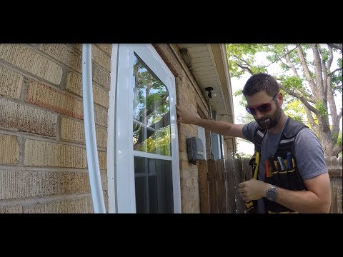 How To Install Storm Doors Like A Pro | THE HANDYMAN |