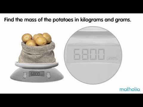 Converting Grams To Kilograms And Grams