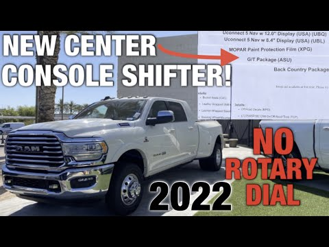 Everything NEW On The 2022 RAM 1500 2500 3500! Uconnect 5 & TRX Shifter In NEW G/T Package!