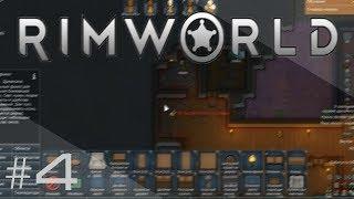 RimWorld 1.0 — #4 Обустройство жилища, лечение чумы у питомца [Племя Альпаки]