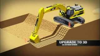 Repeat youtube video Cat® Grade Control for Hydraulic Excavators: Overview