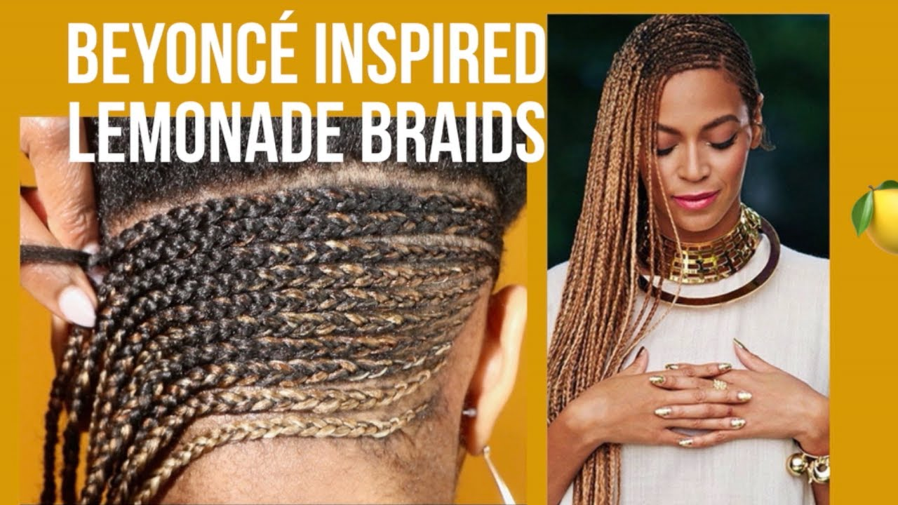Lemonade Braids| Feedin Braids Tutorial (BEYONCÉ Inspired)