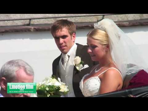 Philipp Lahm und Claudia - Hochzeit - Wedding - Filmproduction Munich