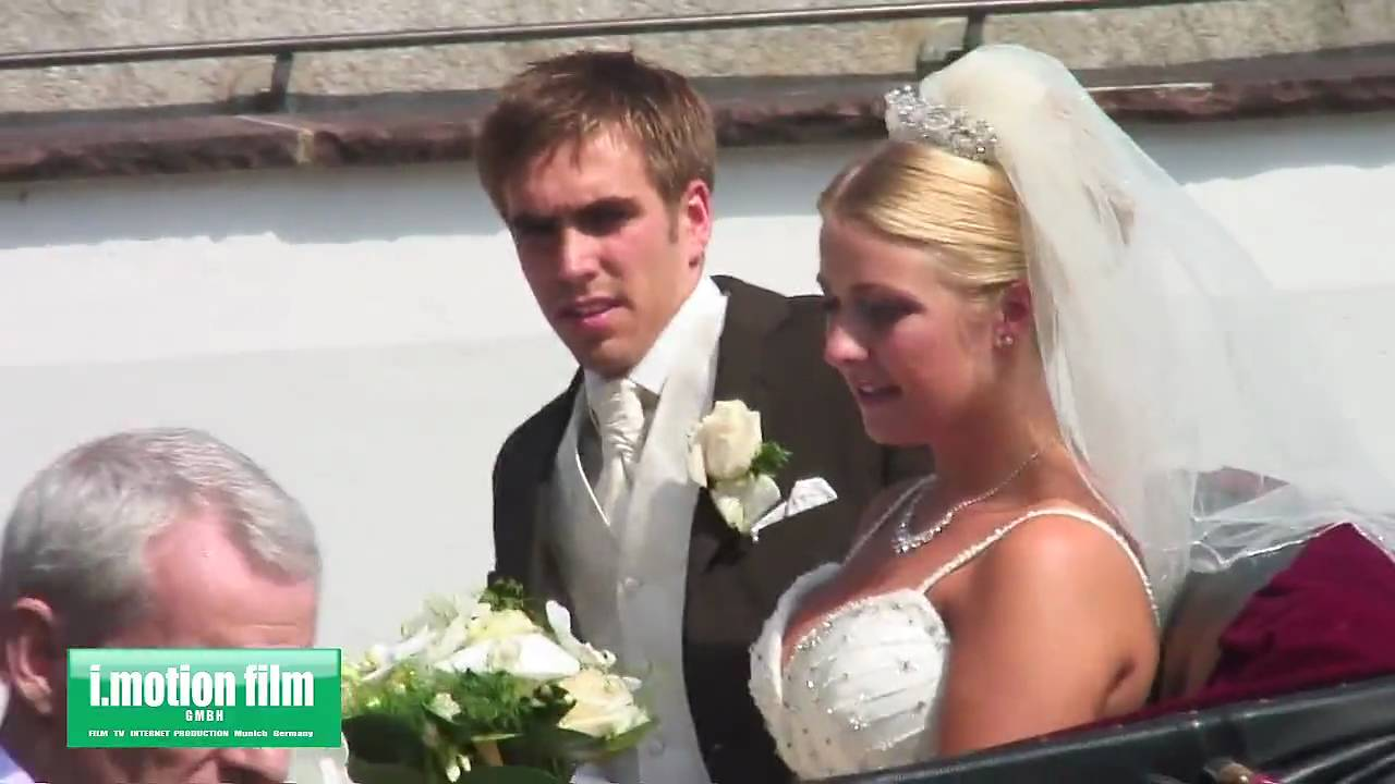 Philipp Lahm und Claudia  Hochzeit  Wedding