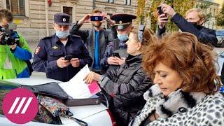 Первые «карусели» и задержание женщины с бюллетенями в сумке первый день выборов в Петербурге