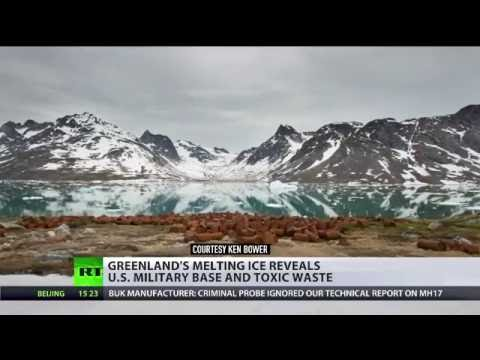 Greenland's melting ice reveals U.S. toxic waste