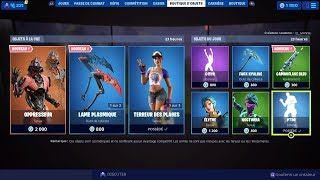 NEW SKIN NEW FORTNITE BOUTIQUE of August 18th (TODAY'S BOUTIQUE)!