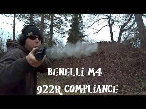 Benelli M4 922r Compliance