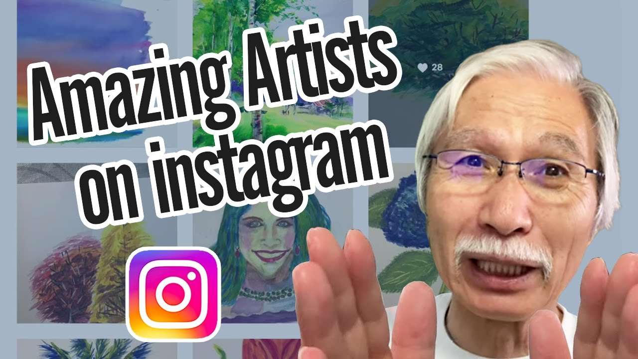 [Eng sub] Amazing Artists on instagram | Watercolor Art ...