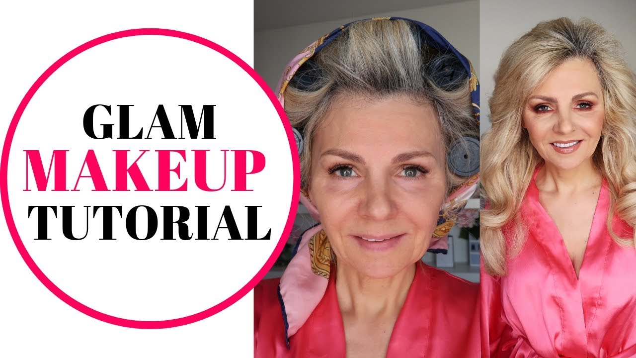 MAKEUP TUTORIAL/ BY 10 YEAR OLD/SIMPLE GLAM/HOW TO DO MAKEUP DEMO FOR WOMAN  OVER 10