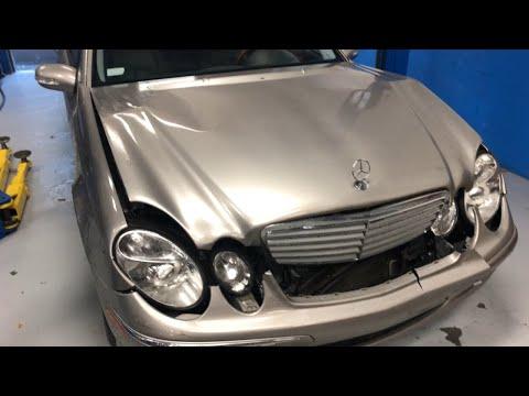 Mercedes Benz E320 after Accident Repair, Auto Body Repair Shop